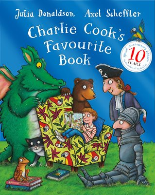 Book cover for Charlie Cook's Favourite Book 10th...